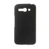 Alcatel OT-7047 Pop C9, Műanyag hátlap védőtok, fekete