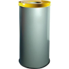 Alda EKO fém szemetes kosarak szelektív hulladékhoz, 45 l térfogat, Kapacitás: 45 L, Anyag: fém, Típus: nyitott, Szín: Szürke, Kupak színe: Sárga, Magasság%