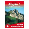 Allgäu 1 túrakalauz/ Oberallgäu - Kleinwalsertal / Bergverlag Rother