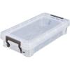ALLSTORE Műanyag tárolódoboz, átlátszó, 0,75 liter,