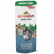 Almo Nature Classic Almo Nature Green Label Mini Food jutalomfalatok - Csirkefilé (25 x 3 g) macskaeledel