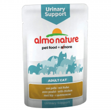 Almo Nature Classic Almo Nature Urinary Support tasakos 6 x 70 g - Csirke macskaeledel