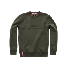 Alpha Indsutries 3D Sweater - dark green