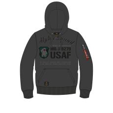 Alpha Indsutries Alpha Squad Hoody - greyblack