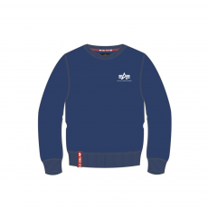 Alpha Indsutries Basic Sweater Small Logo - navy