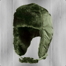 Alpha Industries Aviator Hat - sage green