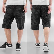 Alpha Industries Deck Short - fekete terep férfi rövidnadrág