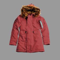 Alpha Industries Explorer Női - burgundy kabát