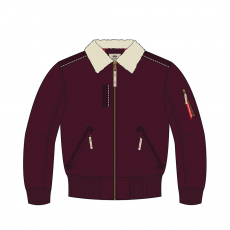 Alpha Industries Injector III - deep maroon
