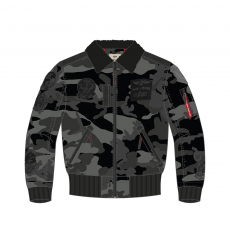 Alpha Industries Injector III Patch - black camo