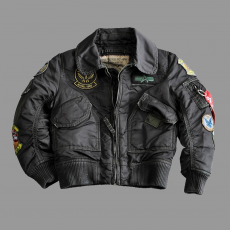 Alpha Industries Kids CWU Pilot - fekete
