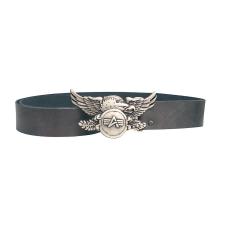 Alpha Industries Leather Belt Eagle férfi ruházati kiegészítő