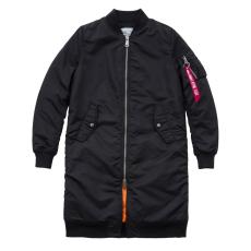 Alpha Industries MA-1 Coat RIB Női - fekete