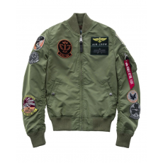 Alpha Industries MA-1 TT Patch - sage green cbbddd2796