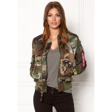 Alpha Industries MA-1 VF LW Női - wood camo65