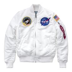 Alpha Industries MA-1 VF NASA Női - fehér