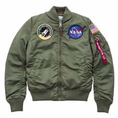 Alpha Industries MA-1 VF NASA Női - sage green