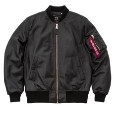 Alpha Industries MA-1 VF PM Leather marhabőr - fekete/réz