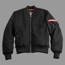 Alpha Industries MA-1 Wool - fekete
