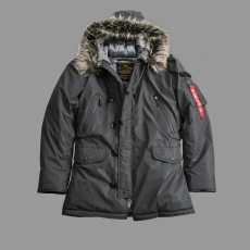Alpha Industries N3B VF Reflective - fekete