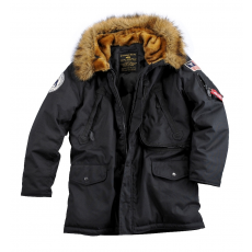 Alpha Industries Polar Jacket - fekete