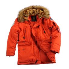 Alpha Industries Polar Jacket - piros