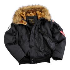 Alpha Industries Polar Jacket SV Wmn - fekete női dzseki, kabát