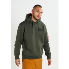 Alpha Industries X-Fit Hoody - dark green