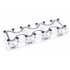AlphaCool GPX SLI híd - Quad - Plexi
