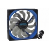AlphaCool Susurro Fan - 120 - Black / Blue Edition