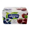 Alpro Alpro szója yofu áfonya-meggy 4x125 g