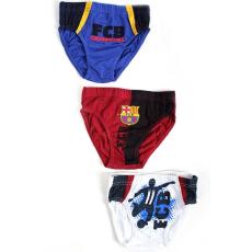 alsónadrág FC Barcelona - 3 db csomagban - méret: 4/5 év.