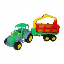 Altay Fákat szállító traktor 60cm autópálya és játékautó