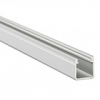 Alu profil eloxált (Type-Y) LED szalaghoz, opál bura, PMMA