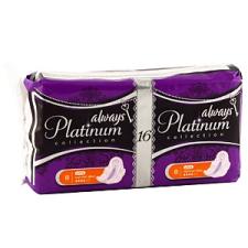 Always Platinum - Ultra Normal Plus Szárnyas betét 16 db női ajándéktárgy