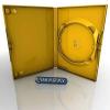 Amaray DVD tok 14mm sárga