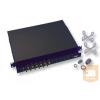 "AMP 19"" LC optikai panel, üres, 24 duplex toldóhoz (300mm fiókos) fekete (1671000-8)"
