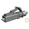 AMP LC LightCrimp Plus csatlakozó - MM simplex 62.5/125µ, bézs (6754483-1)