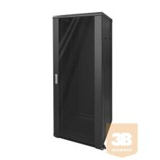 AMTECH RA683700 37U 600x800 álló rack szekrény szerver
