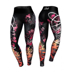 Anarchy Apparel sportruházat Anarchy Apparel Floral Leggings