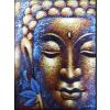 Ancient Buddha Festmény - Arany Arc & Lótusz Virág