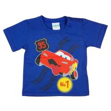 Andrea Kft. Disney Cars/Verdák mintás bébi póló