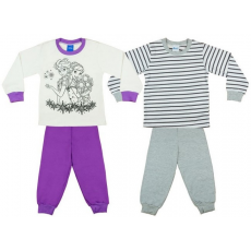 Andrea Kft. Disney Frozen/Jégvarázs lányka páros hosszú pizsama szett (2db) 19653904116