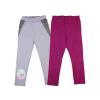 Andrea Kft. Disney Jégvarázs-Frozen mintás- pöttyös lányka páros leggings szett (2db)