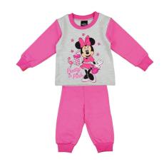 Andrea Kft. Disney Minnie flamingós, csillámos kislány pizsama