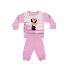 Andrea Kft. Disney Minnie lányka pizsama szíves, csíkos