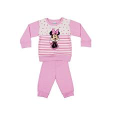 Andrea Kft. Disney Minnie lányka pizsama szíves| csíkos 20620045092