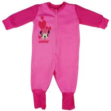 Andrea Kft. Disney Minnie szívecskés belül bolyhos overálos pizsama 122 22769902122
