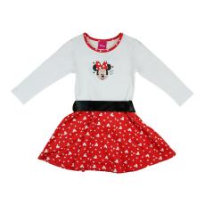Andrea Kft. Disney Minnie szívecskés derékszalagos ruha 23406009098