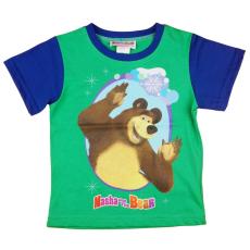 Andrea Kft. Mása és a medve gyerek rövid ujjú póló